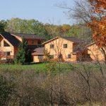 Lodge exterior summer-fall